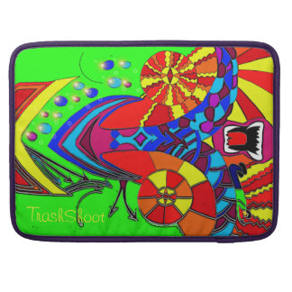 Abstract Trippy Face MacBook Pro Sleeve