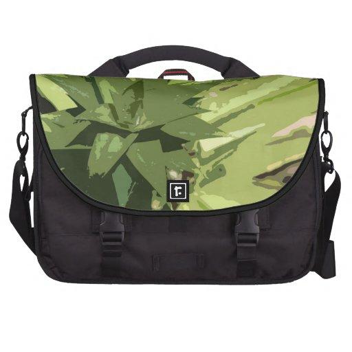 Abstract Tropical Art Laptop Bag