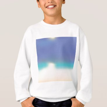 Beach Themed Abstract Tropical beach Sweatshirt