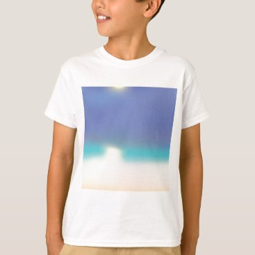 Beach Themed Abstract Tropical beach T-Shirt