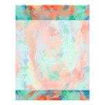 Abstract Tropical Painting Letterhead
