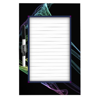 Abstract Trumpet Fractal Dry-Erase Board