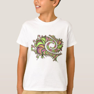 Abstract Tube Colorful Design T-Shirt