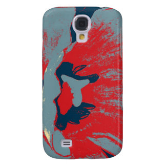 Abstract Tulip Samsung Galaxy S4 Cover