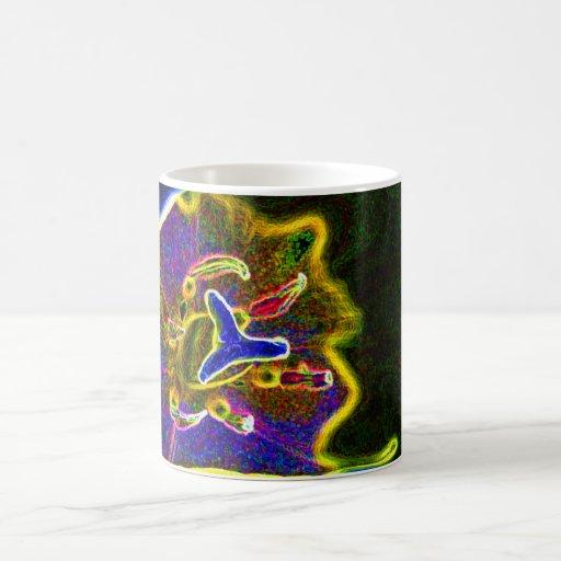 Abstract Tulip morphing mug