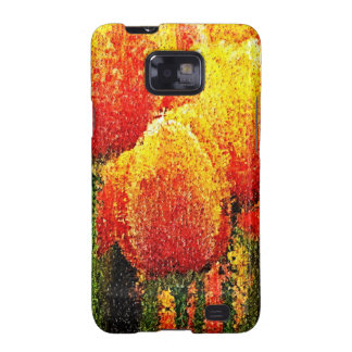 Abstract Tulip Painting Art - Sam Sung Galaxy Case Samsung Galaxy Cases