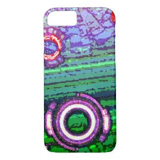 Abstract Turbo Retro Cyborg iPhone 7 Case