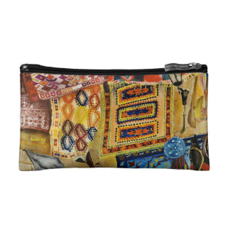 Abstract Turkish Rug Prints Bag Makeup Bags