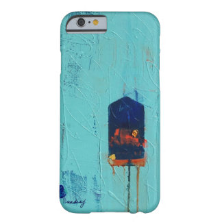 Abstract Turquoise Blue Phone Case iPhone 6 Case