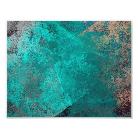 The Texture Of Teal And Turquoise