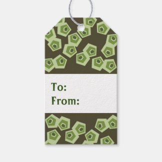 Abstract Turtle Gift Tags