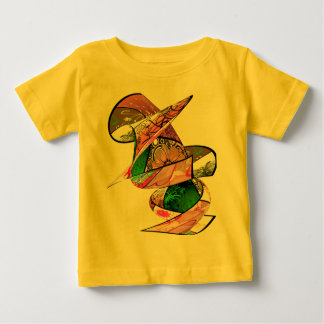 Abstract Twist for wee ones Baby T-Shirt