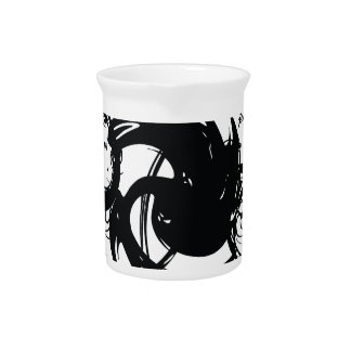 Abstract Twist Pitcher