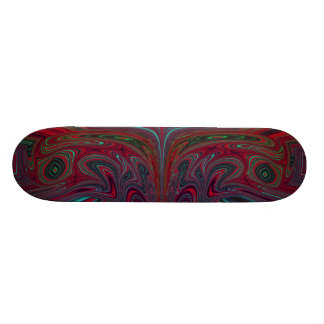 Abstract Two-Headed Snake Skateboards