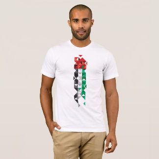Abstract UAE Flag, United Arab Emirates Shirt