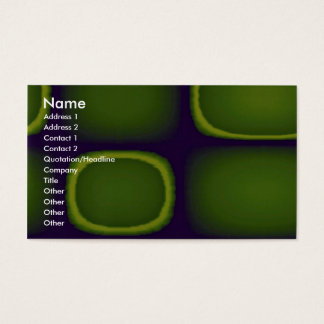 Abstract Uh-oh Business Card