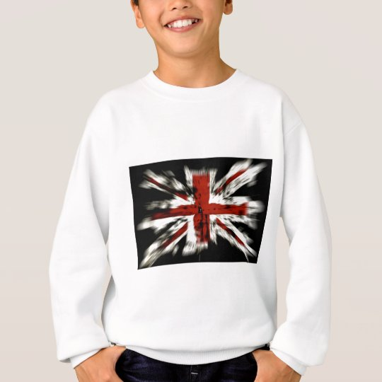 Abstract UK Flag Sweatshirt