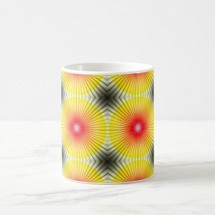 Abstract Umbrella Ribs Coffee Mug