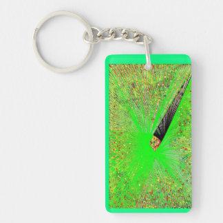 Abstract Under Water Worlds Keychain