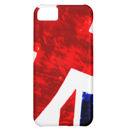 Abstract Union Jack iPhone 5C Case