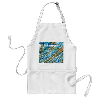 Abstract Unrest Adult Apron