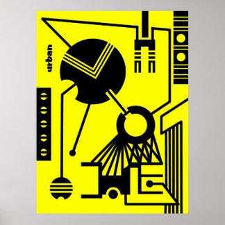 abstract urban 02 print