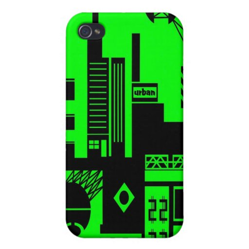 abstract urban 06 iPhone 4 case