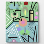 abstract urban 10 photo plaques