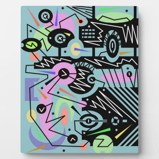 abstract urban 13 display plaques
