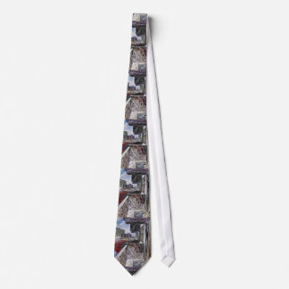 Abstract Urban Structure Neck Tie