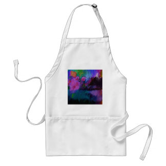 abstract vanity adult apron