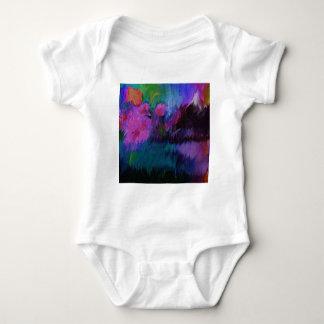 abstract vanity baby bodysuit
