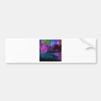 abstract vanity bumper sticker