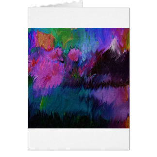 abstract vanity card