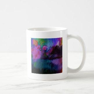 abstract vanity coffee mug
