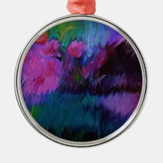 abstract vanity metal ornament