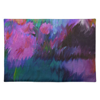 abstract vanity placemat