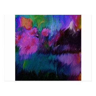 abstract vanity postcard