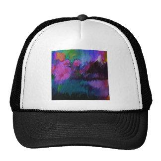 abstract vanity trucker hat