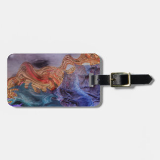 Abstract Vegetables Luggage Tag