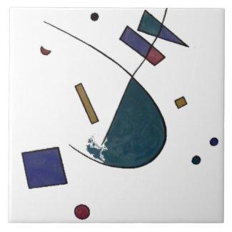 Abstract Verdi Tile