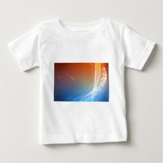Abstract Vibrant Hot and Cold Baby T-Shirt