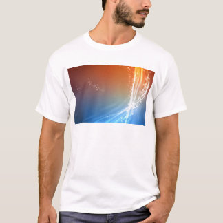 Abstract Vibrant Hot and Cold T-Shirt