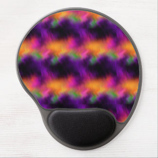 Abstract Vibrant Purple Distortions 10 Gel Mouse Mats