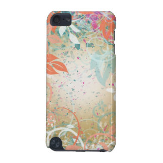 Abstract vine and splatter design iPod touch (5th generation) case