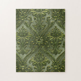 Abstract Vintage Aluminum Pattern Jigsaw Puzzle