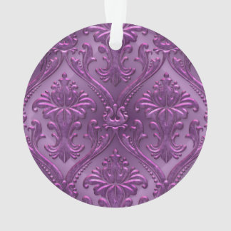 Abstract Vintage Aluminum Pattern Ornament