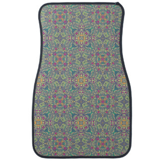 Abstract vintage background car floor mat