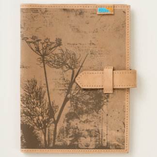 Abstract Vintage Dandelion Seed Design Journal