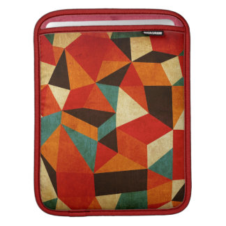 Abstract vintage ipad sleeves